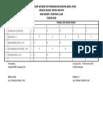 Daftar Hadir Instruktur