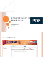 Interpretation of digital image data