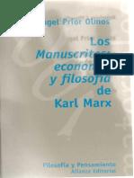 Prior-Olmos-Angel-Los-Manuscritos-de-Economia-y-Filosofia-de-Karl-Marx-Alianza-Ed-1998