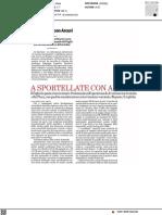Dieci domande ad Arcuri sul vaccino italiano - Il Foglio del 29 gennaio 2021