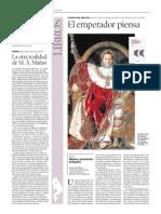 """""""El emperador piensa"""" - Reseña para el suplemento cultural semanal 'Artes&Letras' de Heraldo de Aragón (28.01.2021)"""