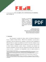 EJA No Contexto Da Pandemia Em Santa Catarina - Estudo Do FEJA (1)