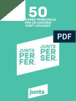 50 mesures de Junts