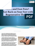Ankle and Foot Pain? – Get Back on Your Feet with Regenerative Therapy!