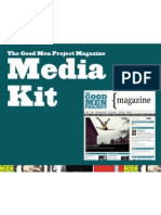 Good Men Project Media Kit 2011