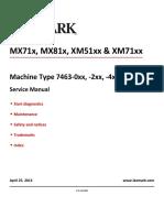 MX81x & MX71x