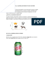 Análisis de La Cartera de Producto Bcg de Pepsi