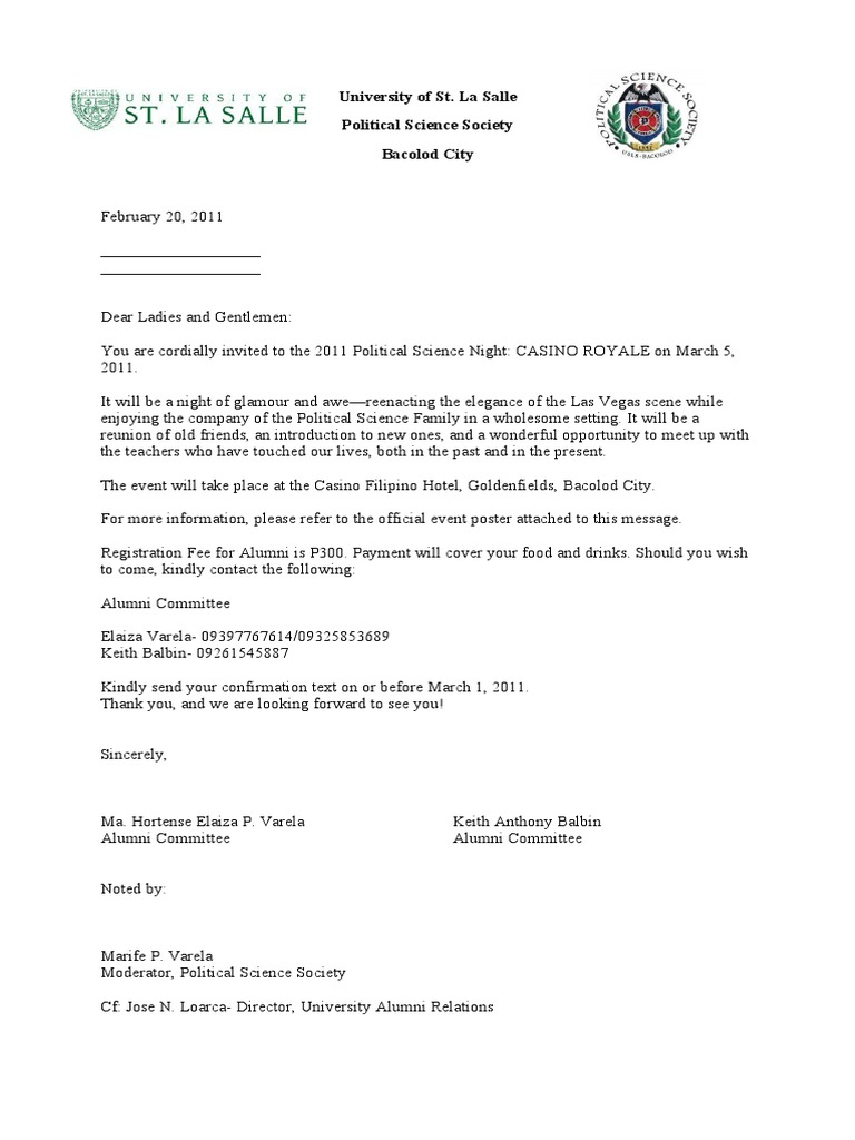 Alumni solicitation letter with reply slip and logo 1 thecheapjerseys Choice Image