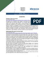 Noticias 19 - 20 febrero RWI - DESCO