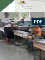 Rapport de LEvaluation Nationale Des Acquis Des Elèves de 2ème Et 5ème Années Détudes 2019(1)