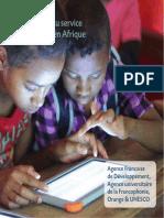 Le numérique au service de l'éducation en Afrique