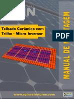 Estrutura Telhado Microinversor