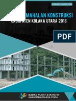 Indeks Kemahalan Konstruksi Kabupaten Kolaka Utara Tahun 2018