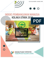 Indeks Pembangunan Manusia Kolaka Utara 2018