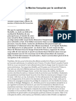 Organisation de la Marine française par le cardinal de Richelieu