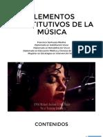 6. Elementos constitutivos de la música pt 1