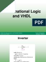 ECSE 2104 - L5 - Combinational Logic and VHDL
