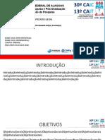Modelo de slide - Encontro Pibic-Pibiti 2019 2020