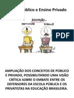 Ensino Público e Ensino Privado