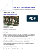 Susan Polgar Chess Daily News and Information