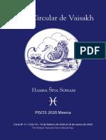 11 - Carta Circular de Vaisakh - Piscis 2020