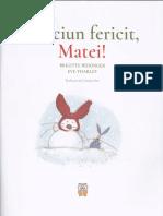Craciun fericit, Matei - Brigitte Weninger, Eve Tharlet