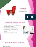 Tiroida - examinare clinica