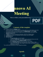 Innovo AI Meeting by Slidesgo