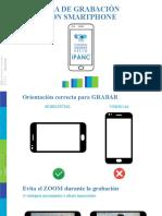 GUÍA DE GRABACIÓN CON SMARTPHONE IPANC