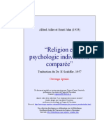 Religion Et Psychologie