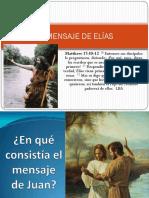 EL MENSAJE DE ELIAS