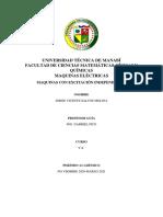 Universidad Técnica de Manabí Maquinas