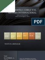 Ayudantía 1 Chile y el Sistema Internacional