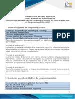 Guía para el desarrollo del componente practico y rubrica de evaluacion - Tarea 5 - Participar del componente practico mediado por tecnología