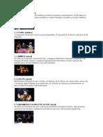 concepto 13 signos del teatro