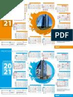 Calendarios Institucionales Buap 2021