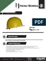 Ficha Técnica Casco Steel Pro Eco