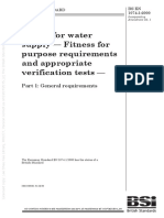 [BS EN 1074-1_2000] -- Valves for water supply. Fitness for purpose requirements and appropriate verification tests. General requirements