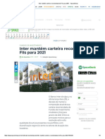 Inter mantém carteira recomendada de FIIs para 2021 - SpaceMoney