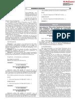 RESOLUCIÓN MINISTERIAL N° 140-2021/MINSA - Directiva Sanitaria