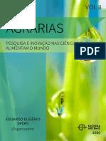 Livro - Agrárias - Pesquisa e Inovação Nas Ciências Que Alimentam o Mundo Vol.2