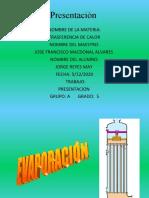 5.4 Aplicacion en Evaporadores y Condensadores