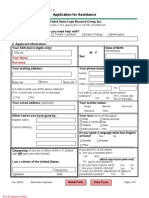 Legal Aid Application