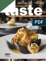 Jacksonville Magazine TASTE 2011