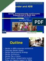 Gender and ADB