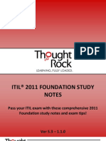 ITIL Foundation Study Notes
