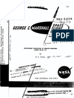 Preliminary Evaluation of Mercury-Redstone Launch MR-BD