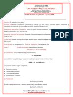Guia de Actividades de Lengua Castellana