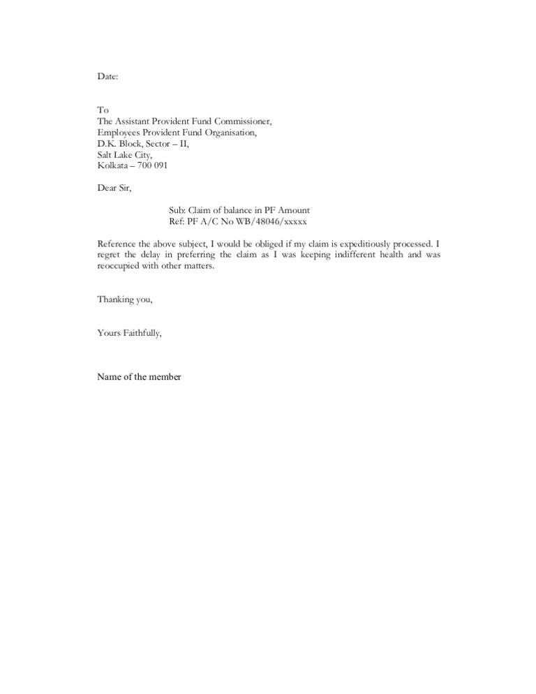 Sample Letter To Insurance Company For Reimbursement from imgv2-1-f.scribdassets.com