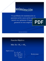 Simplex-maximizacion